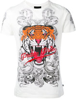 Philipp Plein Philipp Tiger T-shirt - men - Cotton - S