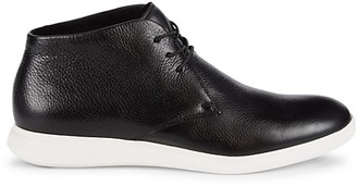 Kenneth Cole New York Reecepod Leather Chukka Sneakers