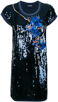 Twin-Set sequin embellished dress - women - Cotton/Nylon/Polyester/Viscose - XS