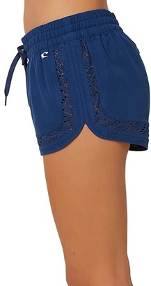 O'Neill 2 Eden Boardshorts (Navy) Women's Swimwear