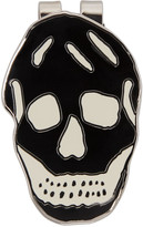 Alexander McQueen Black & White Skull Money Clip
