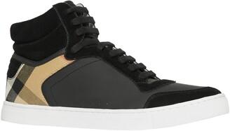Burberry New Reeth High Top Sneaker