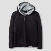 Burnside Boys' Thermal Knit Henley Shirt - Burgundy