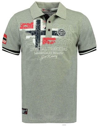 Geographical Norway Kutta Cotton Polo Shirt in Slim Fit