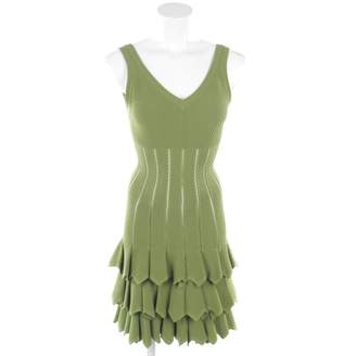Alaia \N Green Synthetic Dresses