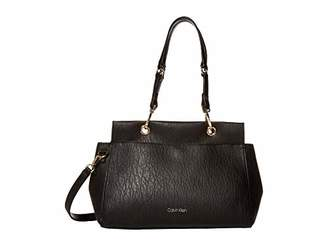 Calvin Klein Sonoma Bubble Lamb Novelty Satchel