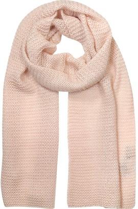 Marina D'Este Light Pink Wool Blend Women's Scarf