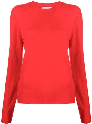 Bottega Veneta Crew-Neck Long-Sleeve Jumper