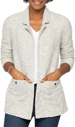 Nic+Zoe Cotton-Blend Open-Front Cardigan