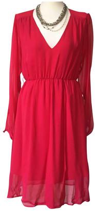 GUESS Pink Silk Dresses