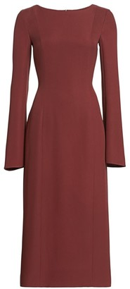 The Row Shula Belle Sleeve Sheath Dress