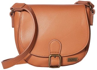 Roxy Vegan Brownie Crossbody (Camel) Cross Body Handbags