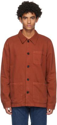 Nudie Jeans Red Barney Jacket