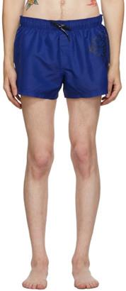 Versace Underwear Blue Medusa Swim Shorts