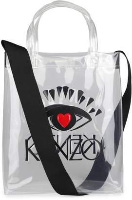 Kenzo Logo Detail Tote Bag
