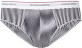 DSQUARED2 striped briefs - men - Spandex/Elastane/Viscose - M