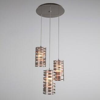 Hammerton Studio 3-Light Cluster Cylinder LED Pendant Finish: Matte Black, Shade Color: No Shade, Bulb Type: CFL/LED Retro