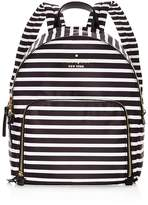 Kate Spade Watson Lane Hartley Striped Nylon Backpack