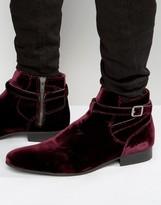 House Of Hounds Albion Velvet Jodphur Boots