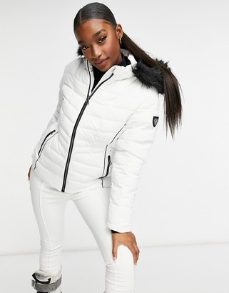 Dare 2b Dare2b Glamorize II ski jacket in white