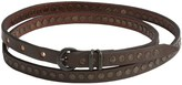Will Leather Goods Olive Studded Belt - Leather (For Women)