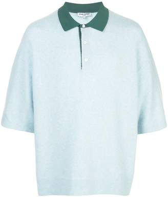 Opening Ceremony contrast-collar polo shirt