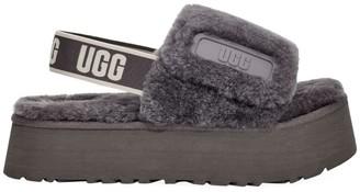 UGG Disco Sheepskin Slingback Slides