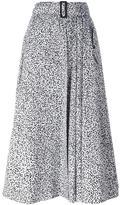Max Mara leopard print mid skirt