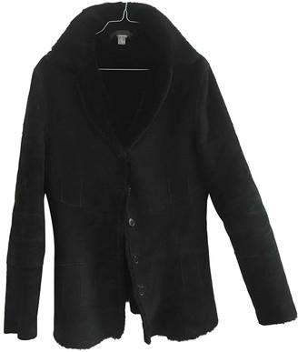 Narciso Rodriguez Black Shearling Jacket for Women