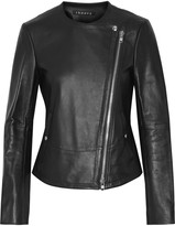 Theory Joean leather biker jacket