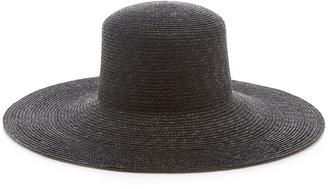 CLYDE Wide-Brim Straw Hat