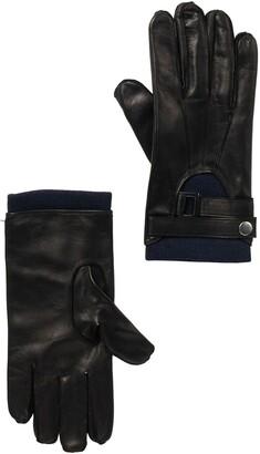 Portolano Nappa Leather Half Moon Gloves