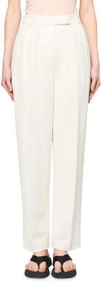 The Row Landeli Single-Pleated Pants