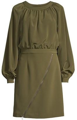 Toccin Crepe Layered Dress