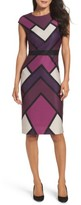 Vince Camuto Women's Scuba Body-Con Dress