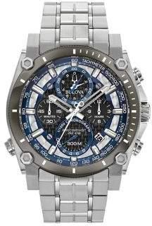 Bulova Precisionist Champlain Stainless Steel Bracelet Chronograph Watch