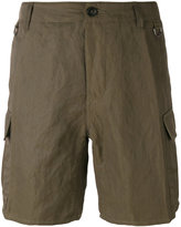 Ermanno Scervino multi-pocket cargo shorts - men - Cotton/Linen/Flax/Polyamide/Metallized Polyamide - 52