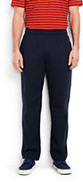 Lands' End Men's Tall Jersey Knit Pants-Classic Navy