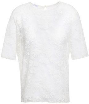 Eres Cailloux Metallic Lace Pajama Top