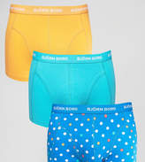 Bjorn Borg 3 Pack Trunks Mini Spot