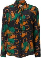 L'Autre Chose abstract print shirt