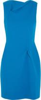 Roland Mouret Zonda wool-crepe mini dress