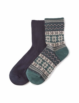 Hue Women's Wintersoft Boot Sock 2 Pair