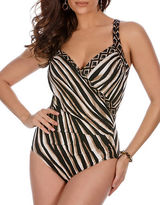 Miraclesuit Sanibel DD Printed One-Piece Slimming Swimsuit