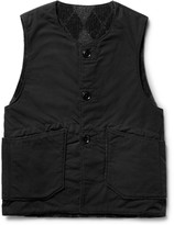 Engineered Garments Reversible Cotton-Blend Ripstop and Wool-Blend Vest
