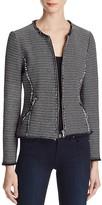 Rebecca Taylor Graphic Tweed Jacket