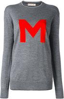 Marni M jumper - women - Nylon/Virgin Wool - 40