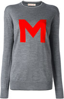Marni M jumper - women - Nylon/Virgin Wool - 42