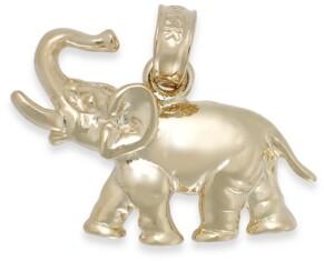 Macy's Polished Elephant Charm in 14k Gold