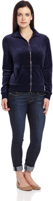 Danskin Women's Velour Jacket